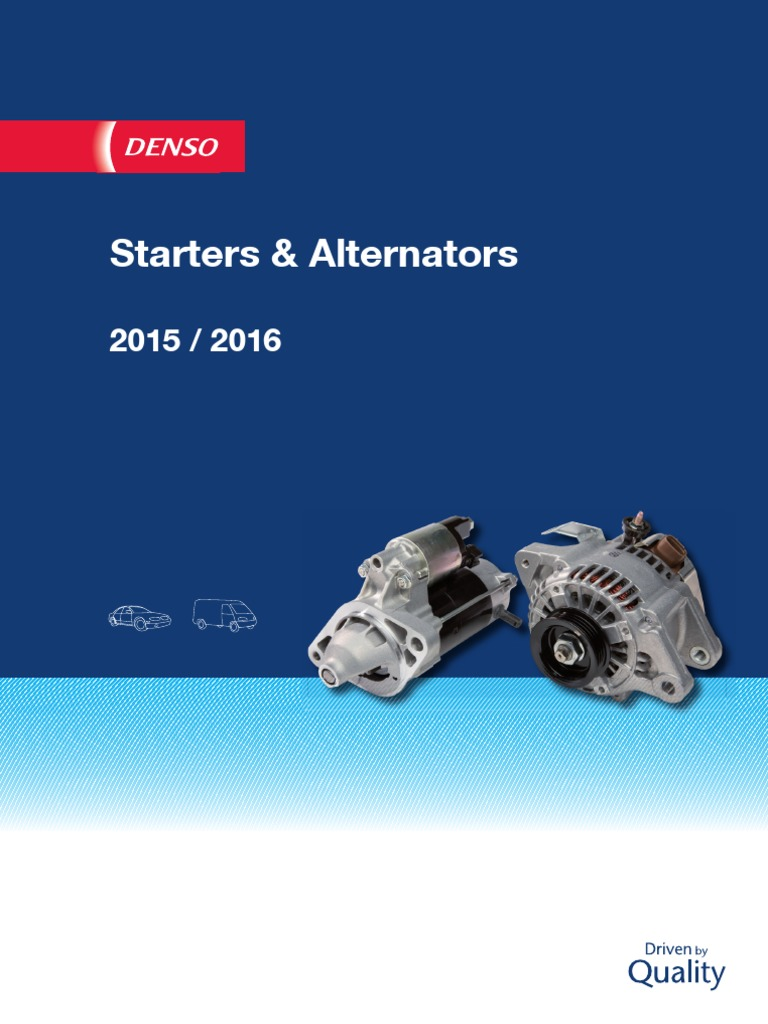 DENSO DAN671 Alternator