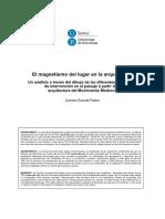 El Magnetismo Del Lugar en La Arq. Estrategias de Intervencion en El Paisaje Por Medio de La Arq Moderna