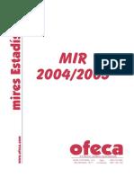 Estadistica Preguntas 1 2004-2005