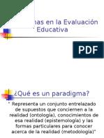Paradigmas en La Evaluacion