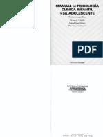 318856457 Manual de Psicologia Clinica Infantil