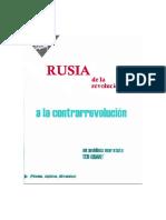 Grant, Grant - Rusia de La Revolucion a La Contrarevolucion