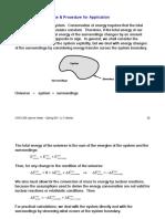 Undergraduate Energy Balance Notes