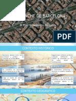 El Ensanche de Barcelona