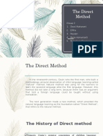 The Direct Method Ppt Fix