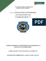 PRODUCCION DE TEXTOS ENSAYO