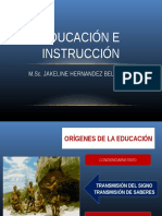 Tema 1 Educación e Instrucción