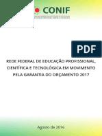 Panorama da Rede Federal de Educação Profissional e Tecnológica