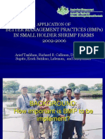 9 Better management practices (BMPs) in small holder shrimp farms - Arief Taslihan.ppt