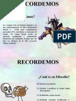 Distribuciones GNU Linux