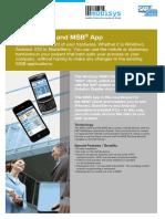 2012 en MSB Client App Product Flyer