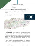 geomorfologia de una cuenca
