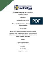 Diseño para la implementación de un SG-SSO