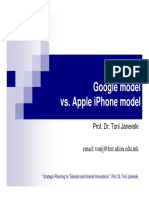 5.Telecom and Internet Innovations-Google Model vs. Apple iPhone Model