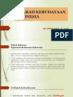 Sejarah Kebudayaan Indonesia