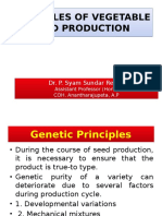 Principles of Seed Production