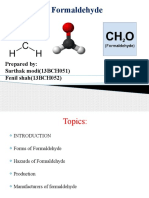 Preparation of Formaldehyde