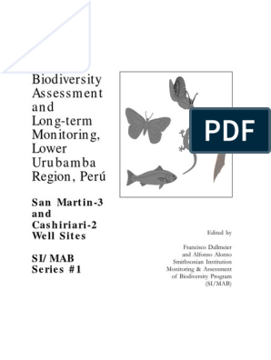 Biodiversity Assessment and Long-term Monitoring, Lower
