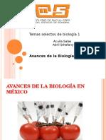 Avances de la biologia en Mexico.ppt