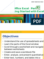 Msoffice Excel Part1