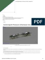 Tutorial Agisoft Photoscan_ Orthomosaic Foto Udara - GeoSpasial