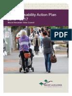 Interim Disability Action Plan - 2015 - 2017