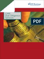 CARE Due Diligence Service Brochure