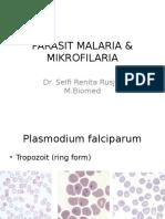 Parasit Malaria & Mikrofilaria