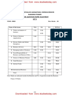 CBSE Class 11 Business Studies Sample Paper SA1 2015 (2)