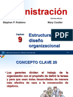 Capitulo 9 - Estructura y Diseño Organizacional