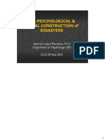 2014 Psychosoc Construction of Disasters Acm