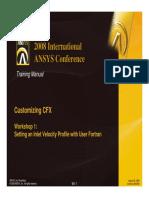 CFX11 Customizing WS1 Profile