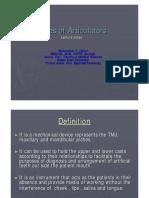 39 Types of Articulators