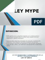 LEY MYPE E