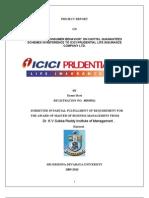 Project Report consumer behaviour (Icici Pru)