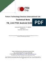 TN 134 FTDI Android D2XX Driver
