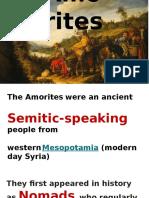 Amorites Assyrians (1)