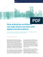 How Enterprise Architects Can Help Ensure Success With Digital Transformations