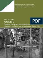 Diaguitas Emergencia Etnica y Dialectica