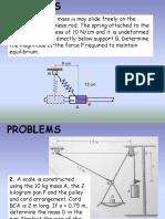 Homework_Equilibrium of Particles