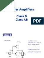 15 Power Amplifier Class B AB