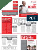 Platforma polica. Igor Dodon