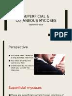 Superficial & Cutaneous Mycoses