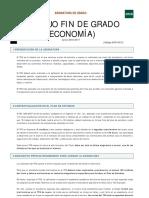 Trabajo Fin de Grado Economia UNED