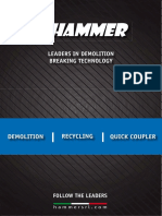 TEHNODIESEL doo Hammer rusenje reciklaza