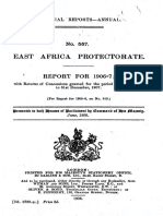 Colonial Reports-Annual for East African Protectorate