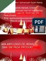 Apa Arti Logo CE RoHS Dan SNI Pada Produ