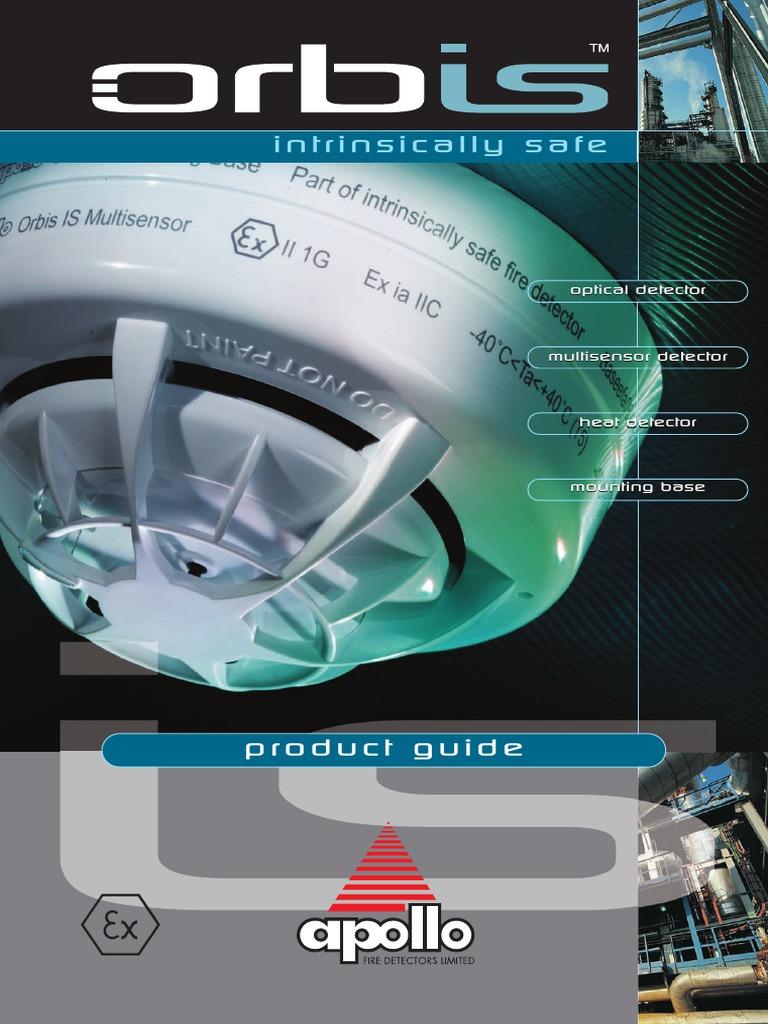 Apollo Orbis Optical Smoke Detector | Smoke | Capacitor