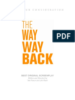 The Way Way Back--Screenplay