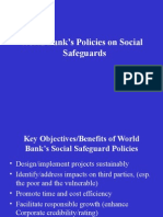 World Bank Social Safeguard Polices